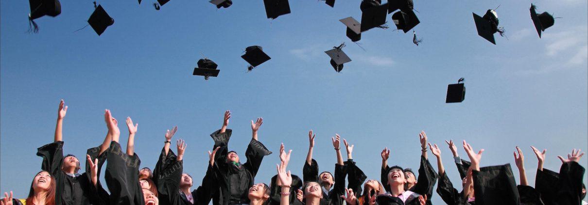 Student Celebrating Graduating